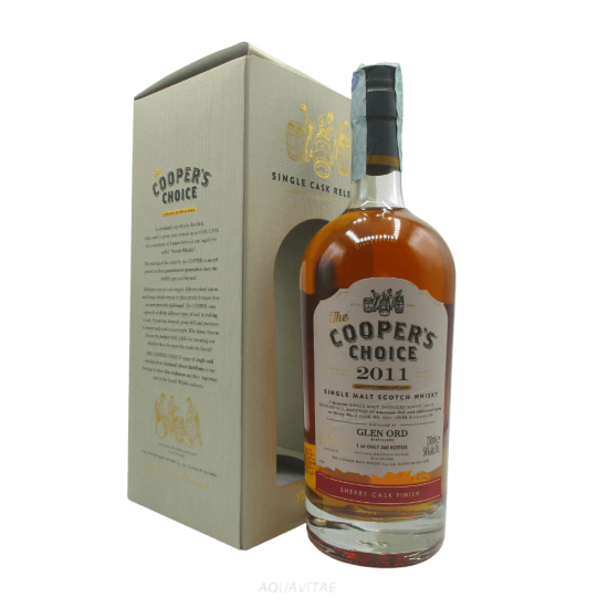 Whisky The Cooper's Choice Glen Ord 2011 VINTAGE MALT WHISKY COMPANY