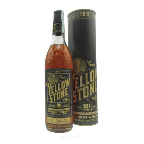 Whiskey Yellowstone Bourbon 101 Limited Edition 2019 Whiskey Americano Bourbon