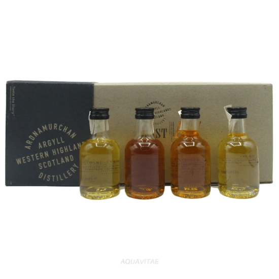 Whisky Ardnamurchan Miniature (4 x 50ml) Adelphi Single Malt Scotch Whisky