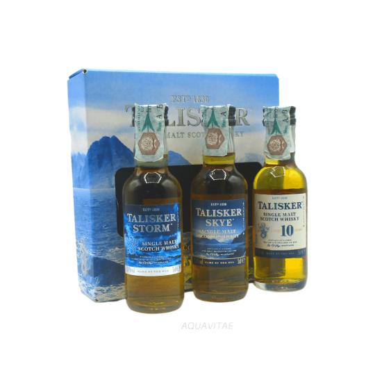 Whisky Talisker Set Degustazione (3 x 50ml) Single Malt Scotch Whisky
