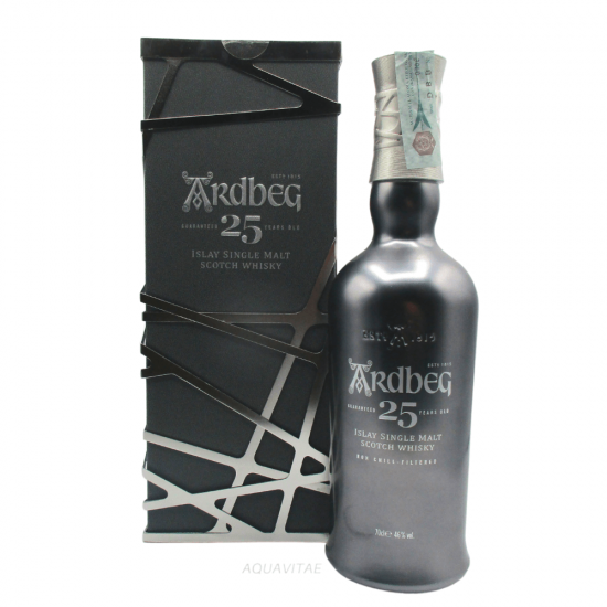 Whisky Ardbeg 25 Year Old Single Malt Scotch Whisky