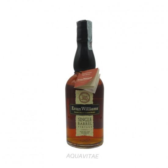 Whiskey Evan Willams Single Barrel Vintage 2012 America Whiskey Bourbon Whiskey