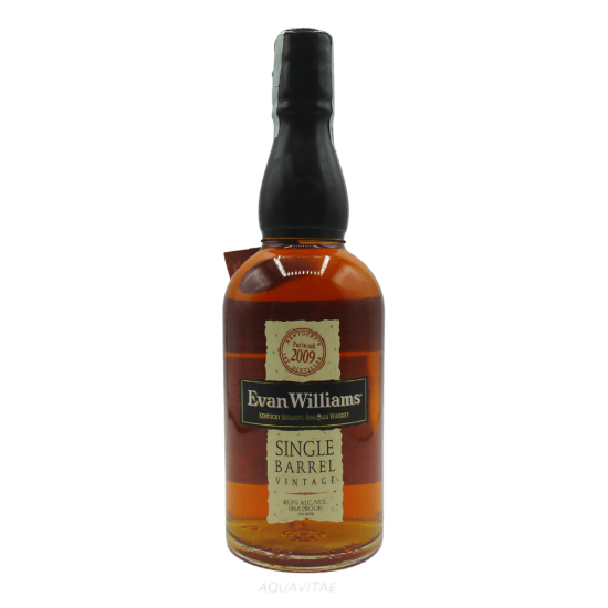 Whiskey Evan Willams Single Barrel Vintage 2009 America Whiskey Bourbon Whiskey