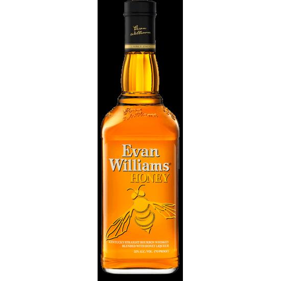 Whiskey Evan Willams Honey America Whiskey Bourbon Whiskey