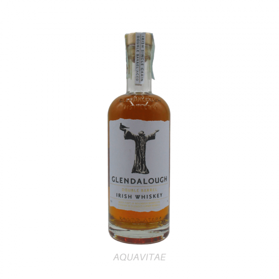 Whiskey Glendalough Double Barrel Irish Whiskey Whiskey Irlandese Single Grain