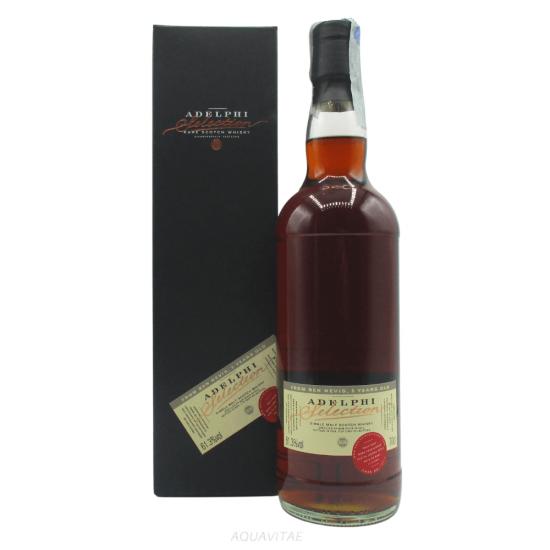 Whisky Ben Nevis 5 Year Old Adelphi Selection Single Malt Scotch Whisky