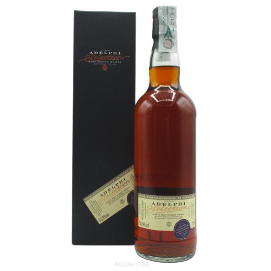Whisky Bunnahabhain 10 Year Old Adelphi Selection Single Malt Scotch Whisky