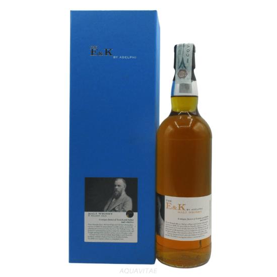 Whisky The E&K 5 Year Old Batch 2 By Adelphi Whisky Scozzese Blended