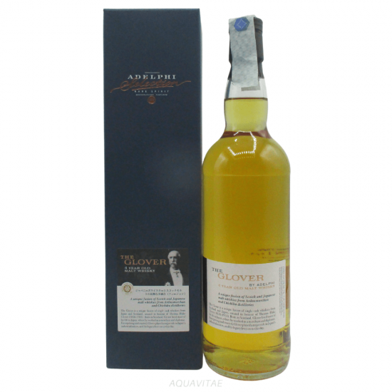 Whisky The Glover 4 Year Old Batch 5 Adelphi Selection Whisky Scozzese Blended