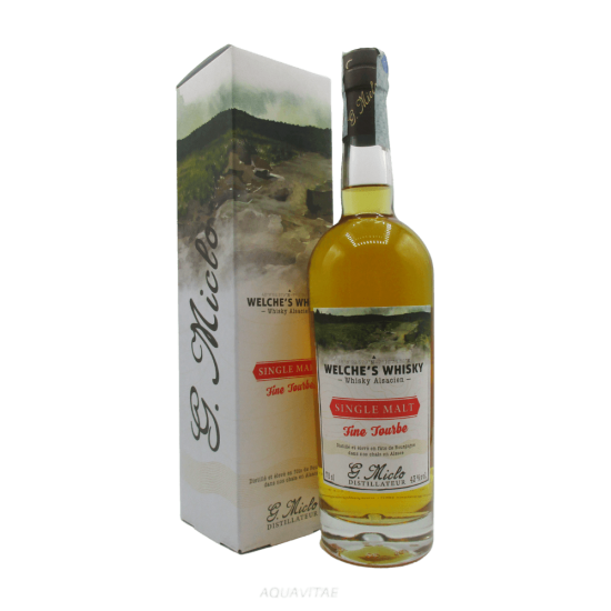 Whisky Welche's Whisky Single Malt Fine Tourbe Whisky Francese Single Malt