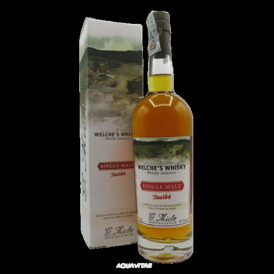 Whisky Welche's Whisky Single Malt Tourbè Whisky Francese Single Malt