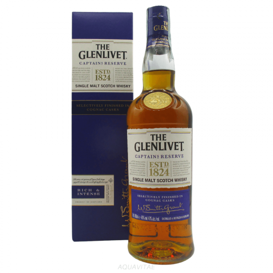 Whisky The Glenlivet Captain's Reserve Single Malt Scotch Whisky