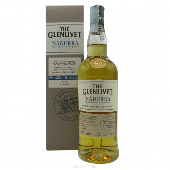Whisky The Glenlivet Nàdurra Peated Cask Finish Single Malt Scotch Whisky