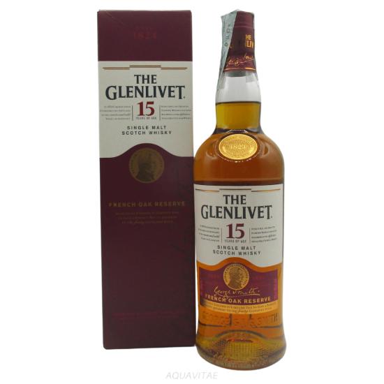 Whisky The Glenlivet 15 Year Old French Oak Reserve Single Malt Scotch Whisky