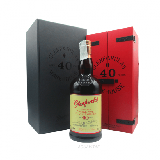 Whisky Glenfarclas 40 Year Old Warehouse Single Malt Scotch Whisky
