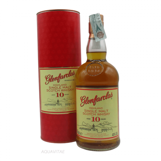 Whisky Glenfarclas 10 Year Old Single Malt Scotch Whisky