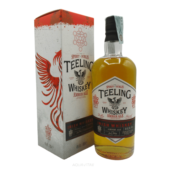Whiskey Teeling Small Batch Amber Ale Finish Whiskey Irlandese Blended