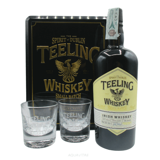 Whiskey Teeling Small Batch Glass Pack Whiskey Irlandese Blended