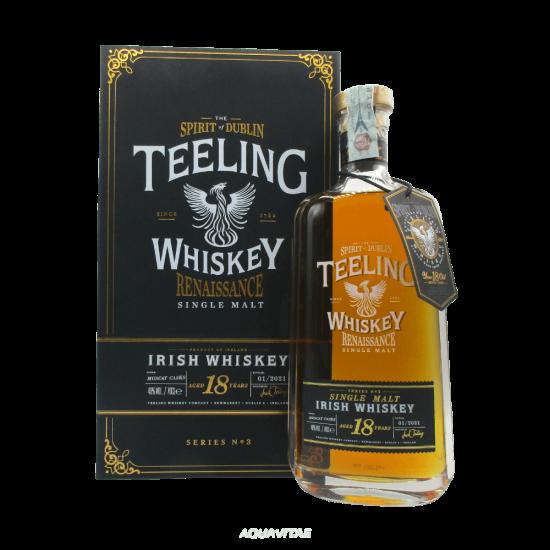 Teeling Single Malt 18 Year Old Renaissance Series 3 Whiskey Irlandese Single Malt