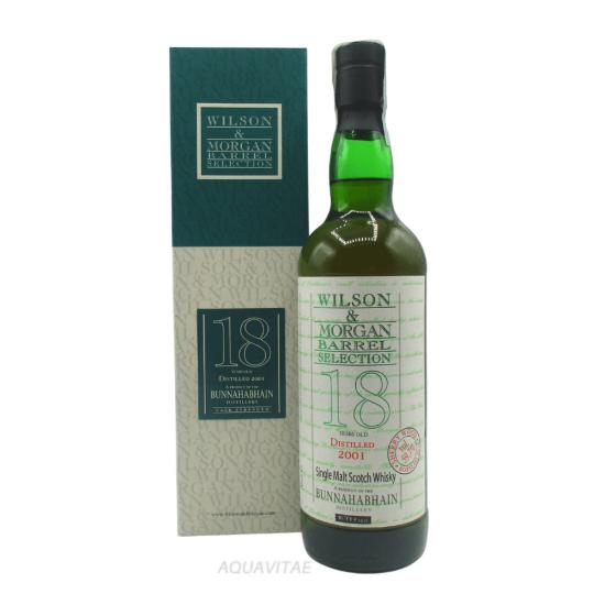 Whisky Bunnahabhain 18 Year Old 2001 Wilson & Morgan Single Malt Scotch Whisky