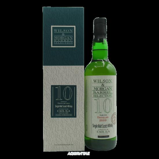 Whisky Caol Ila 10 Year Old Traditional Oak 2010 Wilson & Morgan Single Malt Scotch Whisky