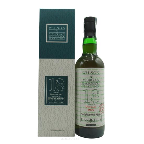 Whisky Bunnahabhain 18 Year Old 2002 Wilson & Morgan Single Malt Scotch Whisky