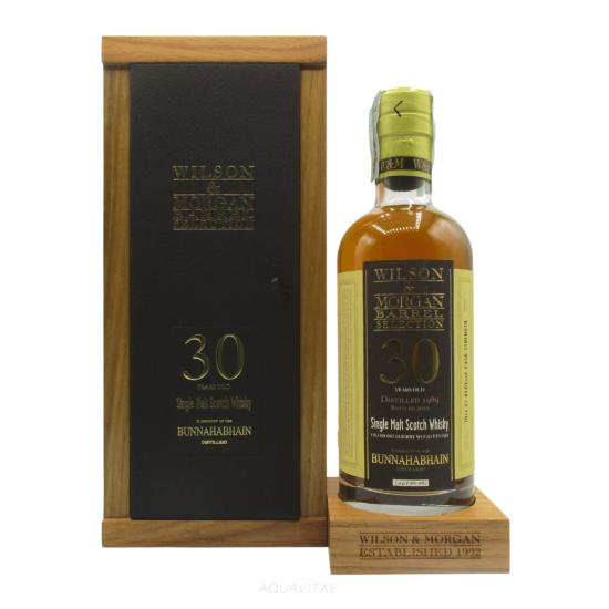 Whisky Bunnahabhain 30 Year Old Oloroso Sherry Wood Wilson & Morgan Single Malt Scotch Whisky