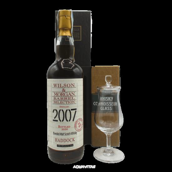 Whisky Haddock 2007 Light Peat Wilson & Morgan + Connoisseur Glass Wilson & Morgan Whisky Scozzese Blended