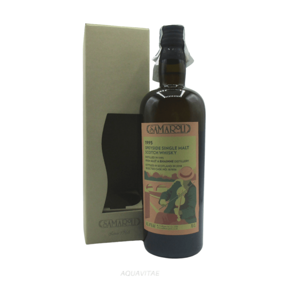 Whisky Samaroli Allt A Bhainne 1995 Edition 2018 Single Malt Scotch Whisky