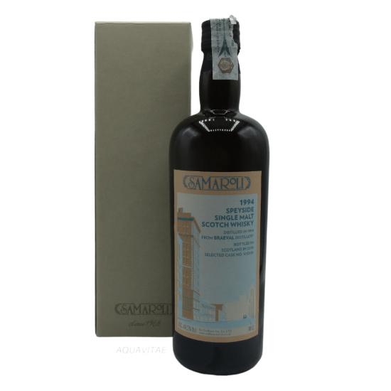 Whisky Samaroli Braeval 1994 Edition 2018 Single Malt Scotch Whisky