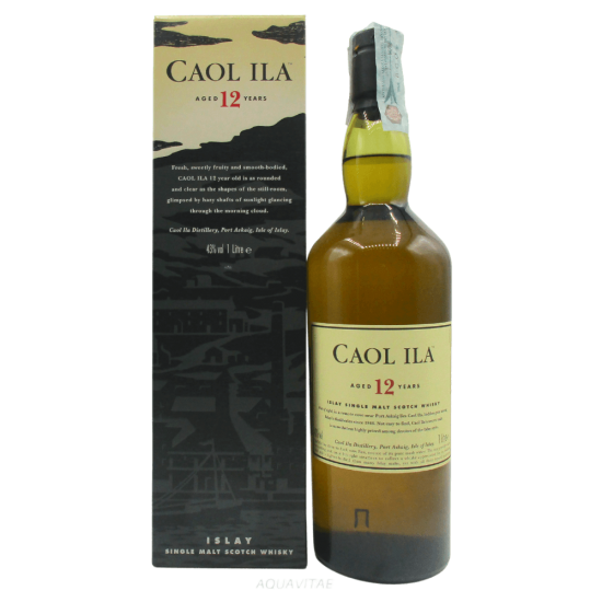 Whisky Caol Ila 12 Year Old (1L) Single Malt Scotch Whisky