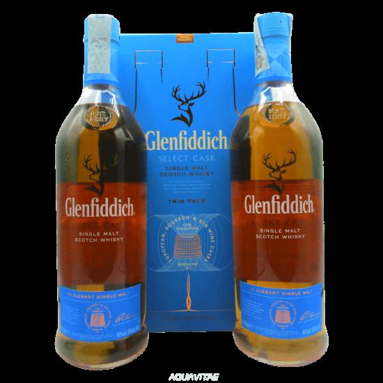 Whisky Glenfiddich Select Cask Twin Pack (2x1L) Single Malt Scotch Whisky
