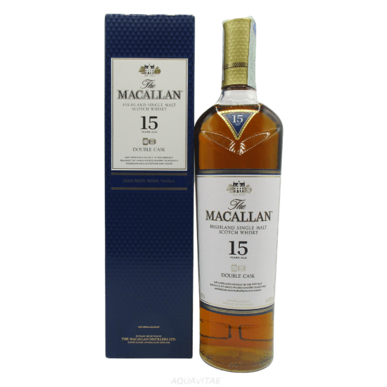 Whisky Macallan 15 Year Old Double Cask Single Malt Scotch Whisky