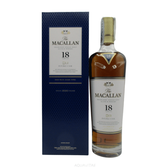 Whisky Macallan 18 Year Old Double Cask Release 2020 Single Malt Scotch Whisky