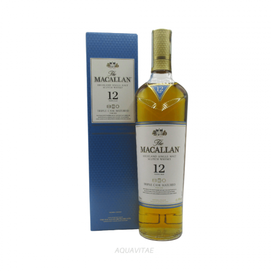 Whisky Macallan 12 Year Old Triple Cask Single Malt Scotch Whisky