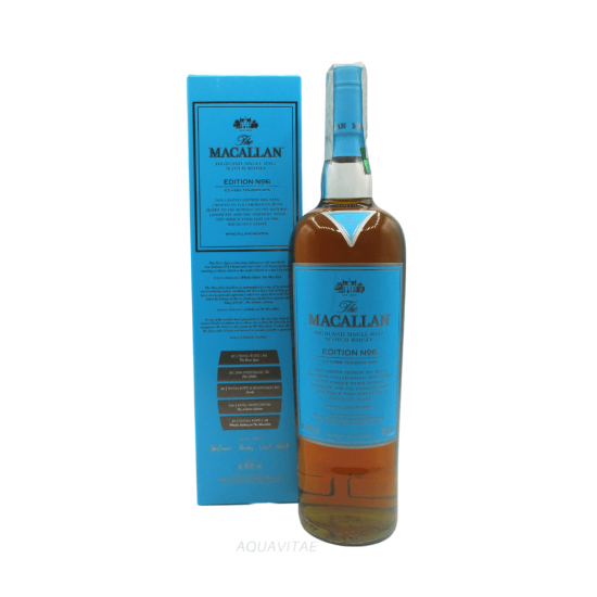 Whisky Macallan Edition No.6 Single Malt Scotch Whisky