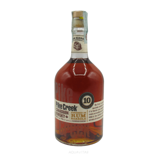 Whisky Pike Creek 10 Year Old Rum Barrels  Whisky Canadese Blended