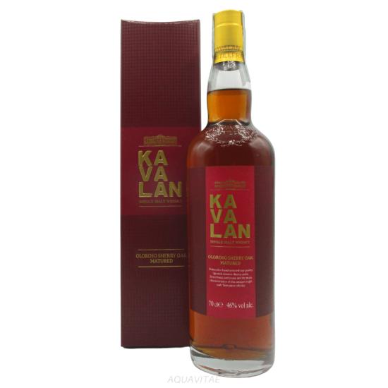 Whisky Kavalan Oloroso Sherry Oak Matured Whisky Taiwan Single Malt