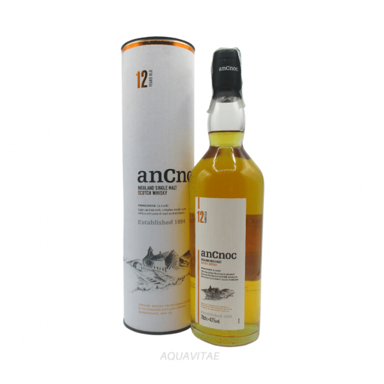Whisky AnCnoc 12 Year Old Single Malt Scotch Whisky