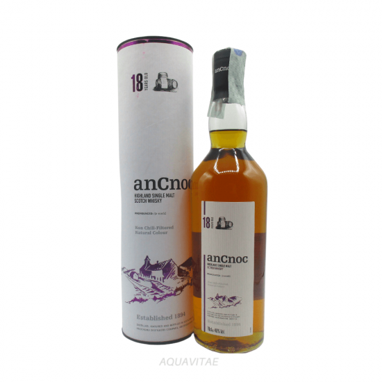 Whisky AnCnoc 18 Year Old Single Malt Scotch Whisky