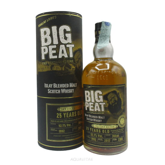 Whisky Big Peat 25 Year Old The Gold Edition Whisky Scozzese Blended Malt