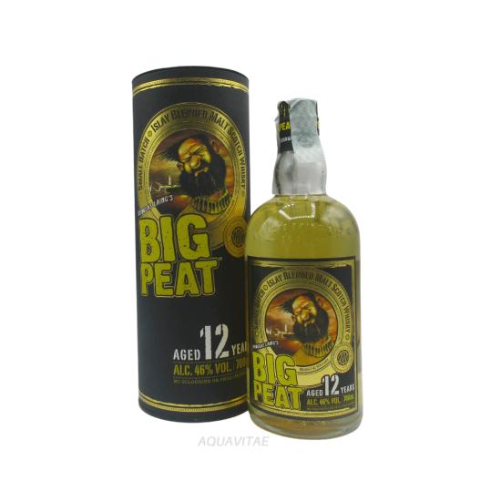 Whisky Big Peat 12 Year Old Islay Vatted Malt Scotch Whisky Whisky Scozzese Blended Malt
