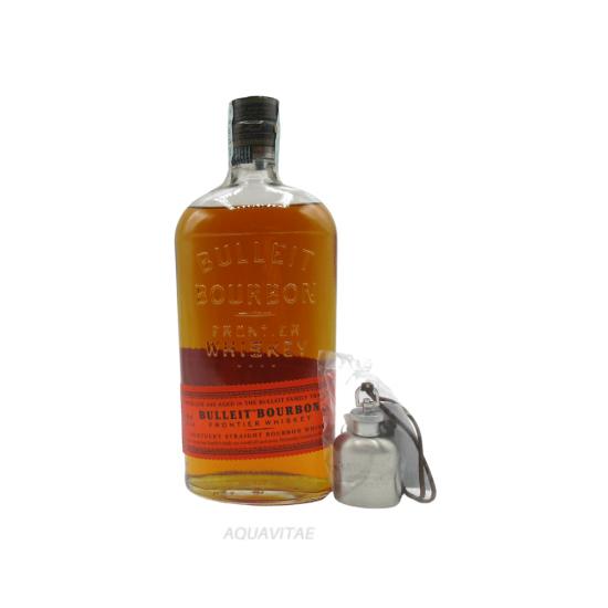 Bulleit Bourbon Whiskey + Fiaschetta Bulleit omaggio