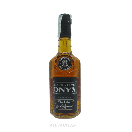 Whisky Black Velvet 12 Year Old Onyx Whisky Canadese Blended