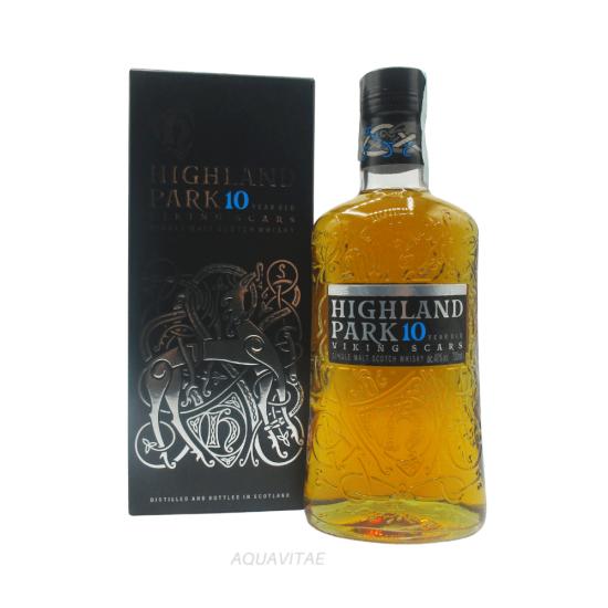 Whisky Highland Park 10 Year Old Viking Scars HIGHLAND PARK