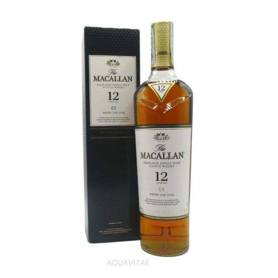 Whisky Macallan 12 Year Old Sherry Oak Cask MACALLAN