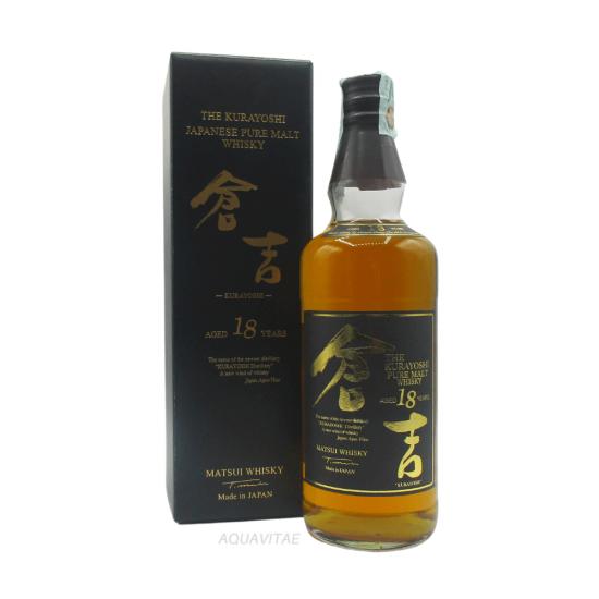 Whisky Matsui Kurayoshi 18 Year Old MATSUI