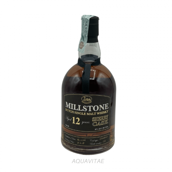 Whisky Millstone 12 Year Old Sherry Cask Dutch Single Malt Whisky