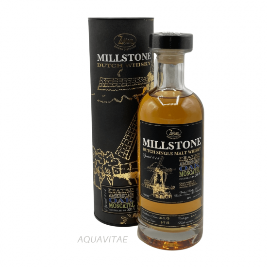 Whisky Millstone Special No.14 Peated American Oak Moscatel Dutch Single Malt Whisky