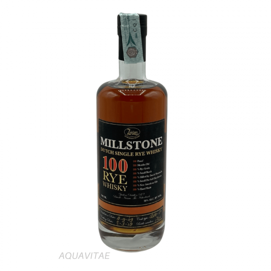 Whisky Millstone 100 Rye Whisky  Dutch Single Malt Whisky